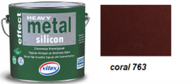 Vitex Heavy Metal Silicon Effect 763 Coral 0,75L